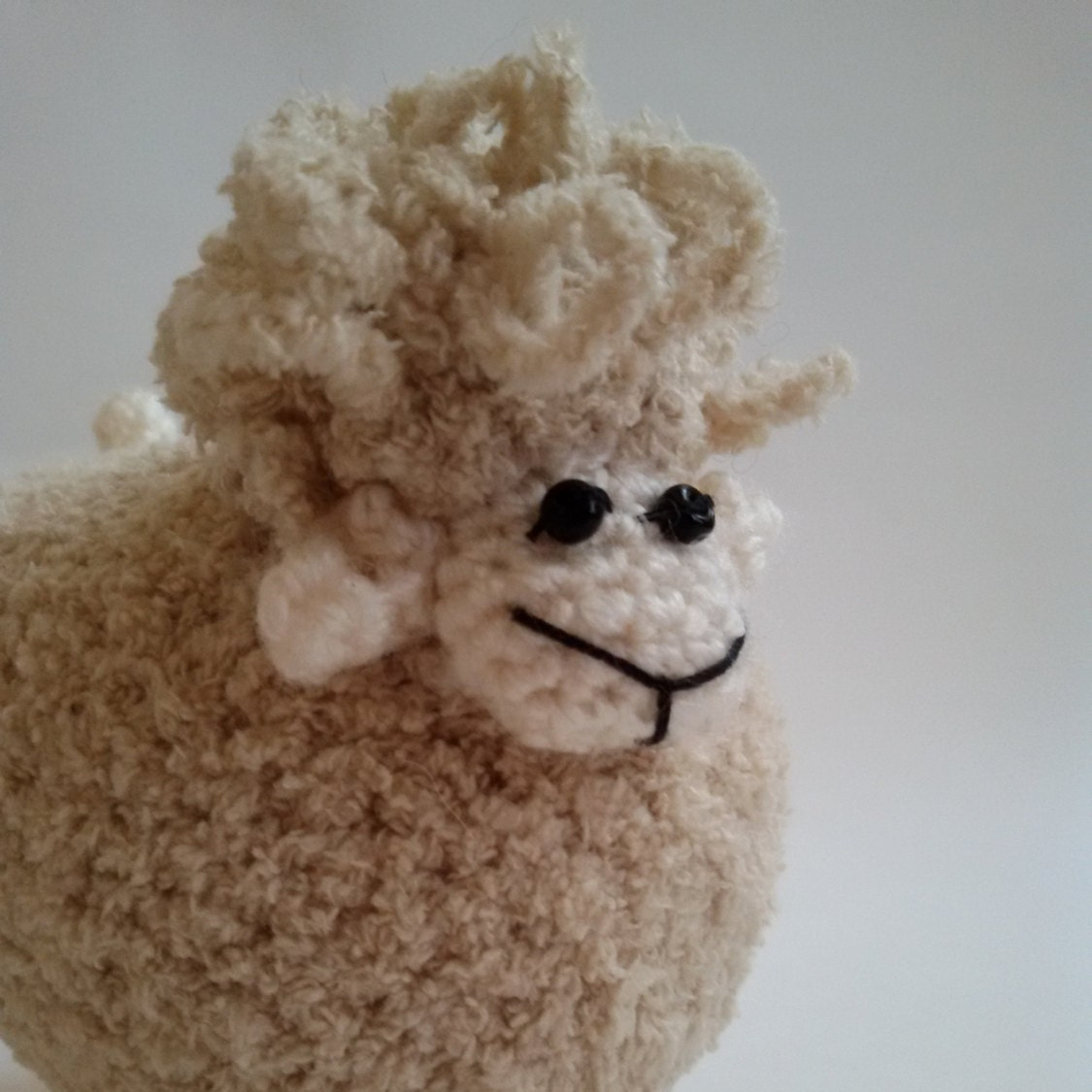 Etsy Amigurumi Sheep : Knit Lamb Crochet Lamb Toy Sheep Lamb Amigurumi by ...