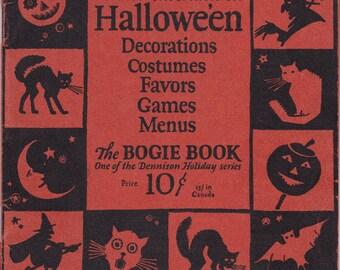 PDF Reproduction - 1926 - Dennison's Bogie Book - Vintage Halloween