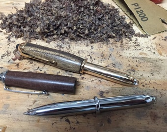 Wood Pen/Stylus/Flashlight
