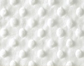 Soft Minky Body Pillow Cover with zipper closure--White