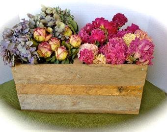 Rustic Wedding Barn Board Box,Rustic Jar Box,Rustic Storage Box,Rustic Wood Box,Mason Jar Box,Primitive Storage Box,Rustic Holding Box