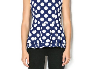 The Madeline Top (Polka Dot)