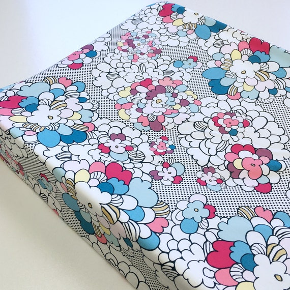 Changing Pad Cover >> Dare Pop Art in Spring Blossom >> Nursery Decor >> ready-to-ship