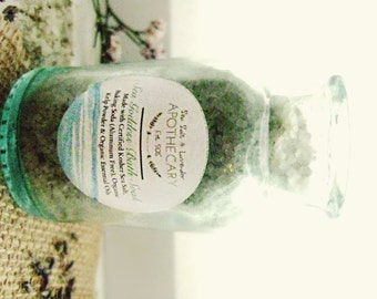 Sea Goddess Organic Bath Soak. Stress Relieving Bath Salt. Detoxifying Sea Salt and Sea Minerals. Bath and Body. Home