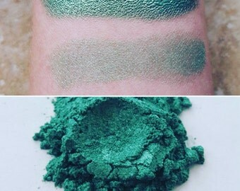 Artemis - Green-Gold, Mineral Eyeshadow, Mineral Makeup, Pressed or Loose