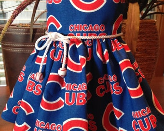 Chicago Cubs dress fits 18 inch dolls including American Girl Dolls