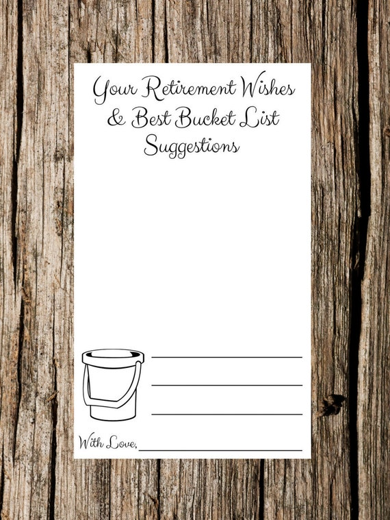 Retirement Bucket List Ideas