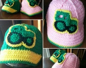 Tractor Ball Cap, Made-to-Order Crochet