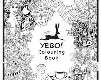 Yebo Colouring Book