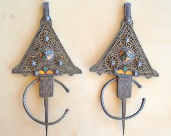 Antique Moroccan Berber Fibulas