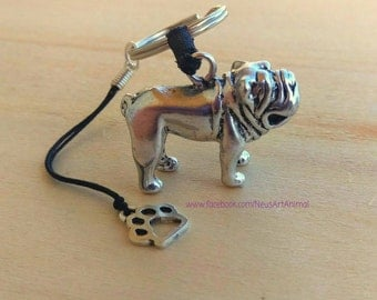 Keychain English Bulldog