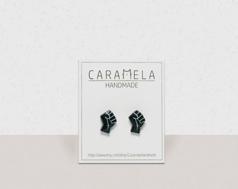 Raised fist Stud Earrings clenched fist symbol studs symbol of resistance revolution symbol solidarity symbol