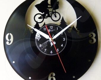 Vinyl wall clock - ET