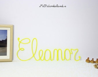kids room decor name sign birthday gifts custom lettering for home decor personalized wall sign handmade name of 7 letters made in italy
