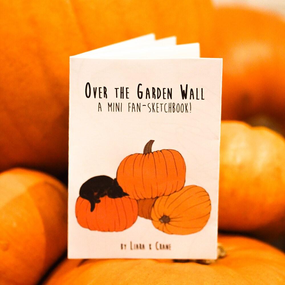 Over The Garden Wall  Mini Art Book Mini Zine