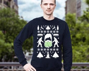 Beard Ugly Christmas Sweater, Yukons Beard, Funny Gift for Him