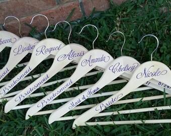 9 Brides Maids Clothes Hanger