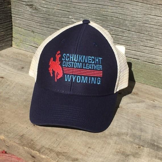 Schuknecht Custom Leather Trucker Hat By SchuknechtLeather