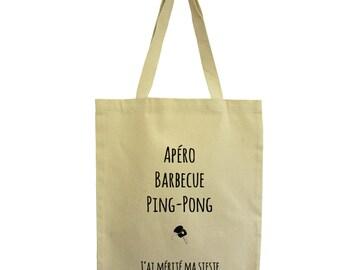 tote bag Summer, Hindbag, fair trade cotton