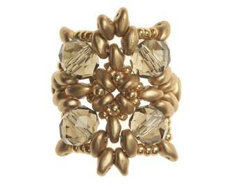Golden Gray Ring