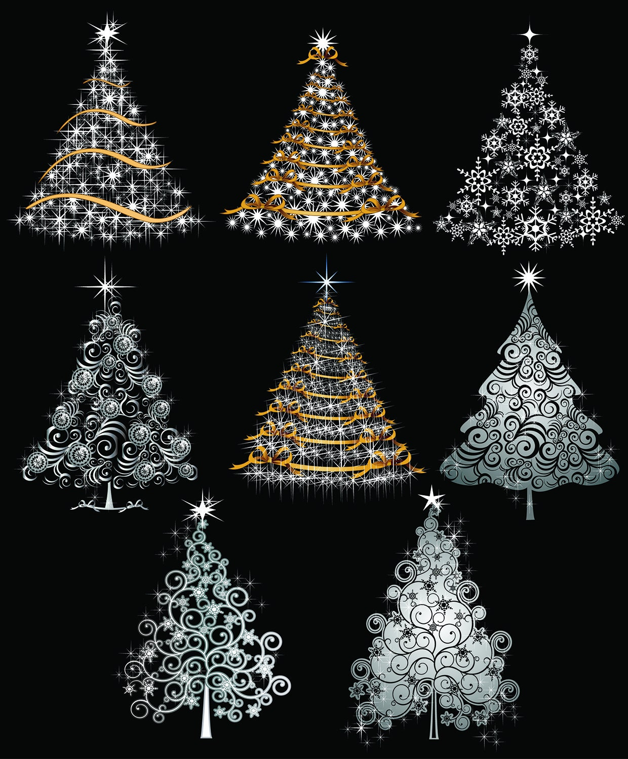 digital art christmas tree - photo #25