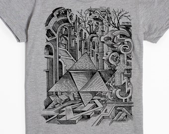 Women's T-shirt - Surreal Shirt - Surrealism Tshirt - Graphic tee - Unique gifts for women