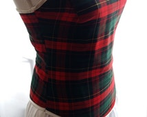 Top corset scottish plaid - custom made