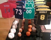 Boston Sports Themed Table Numbers