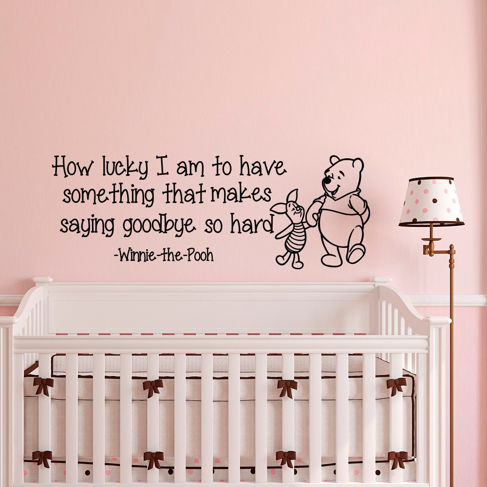 Details. Wall Decal Baby Winnie The Pooh Quote ... Part 14
