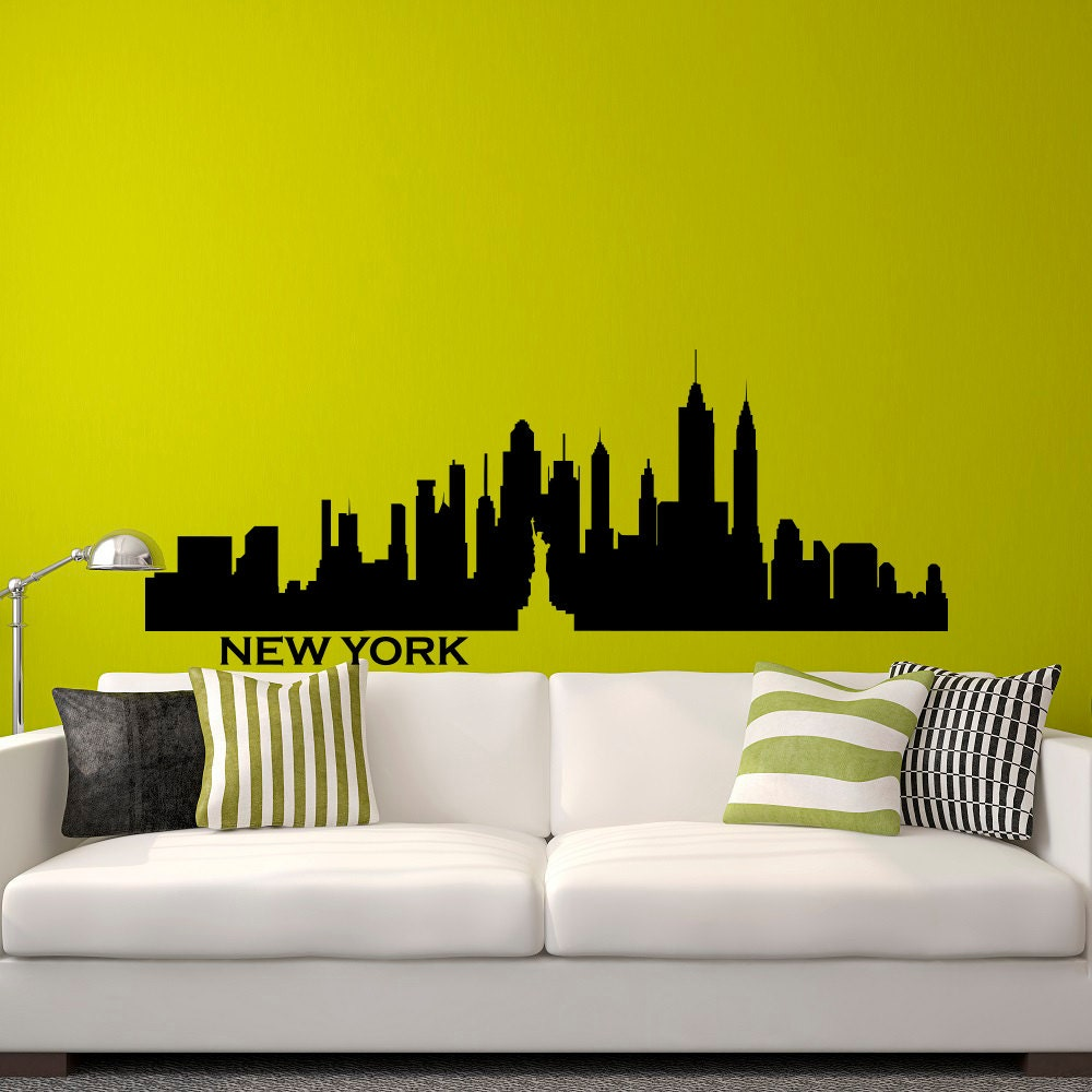 New York Decals For Walls - Elitflat