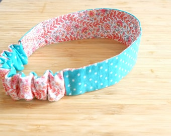 Fabric Headband Reversible Headband Cloth Headband Toddler Headband Hair Accessory Girls Headband Women's Headband, Summer Hair