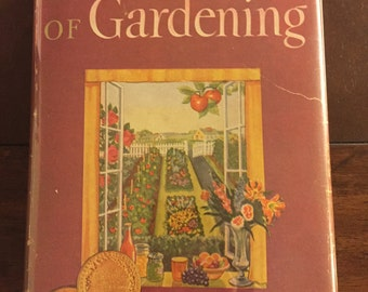Taylor's Encyclopedia of Gardening, 1948 vintage book