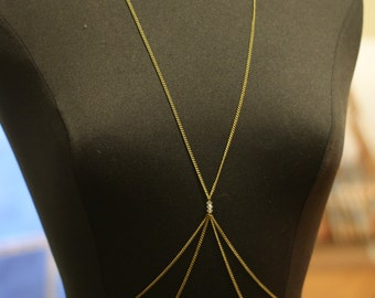 The 'Colby' Body Chain, Gold