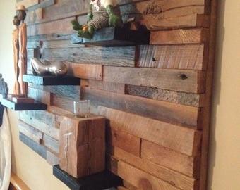 "Old 28 ""x 44"" barn wood frame"