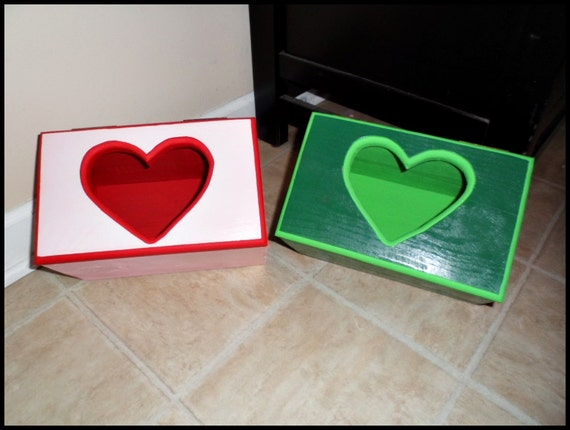 Card Box Valentines Day Card Holder Valentines Box Wood