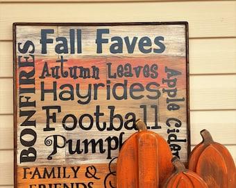 Rustic pumpkins set of 3, Fall Decor, Autumn Decor, Thanksgiving, Halloween