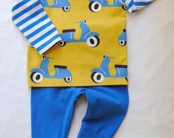 Organic Cotton Baby Boy Set,Toddler Boy Set