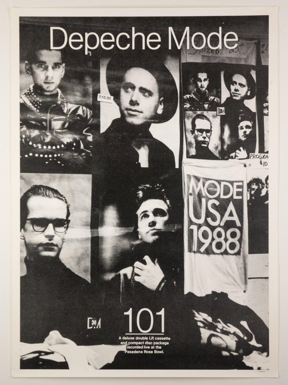 DEPECHE MODE 101 Album 1989 Rare Promo Poster Printed in Great