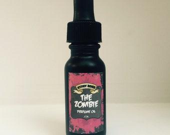Zombie Limited Edition Halloween Perfume Oil Oakmoss Sandalwood Sage Myrrh- Gypsy Rose Cosmetics