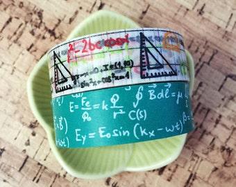 Math Washi Tape Set of 2