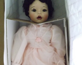Porcelain Bisque Hand Painted Doll - Jade
