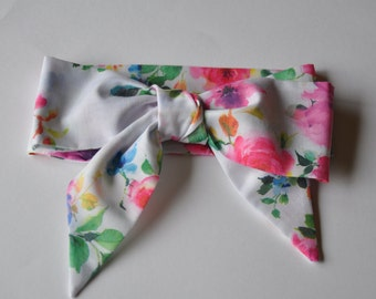 Girls Floral Bouquet Headwrap - Headband