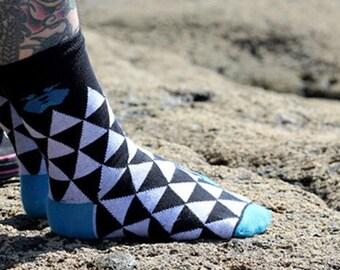 Sock Plattan retro organic