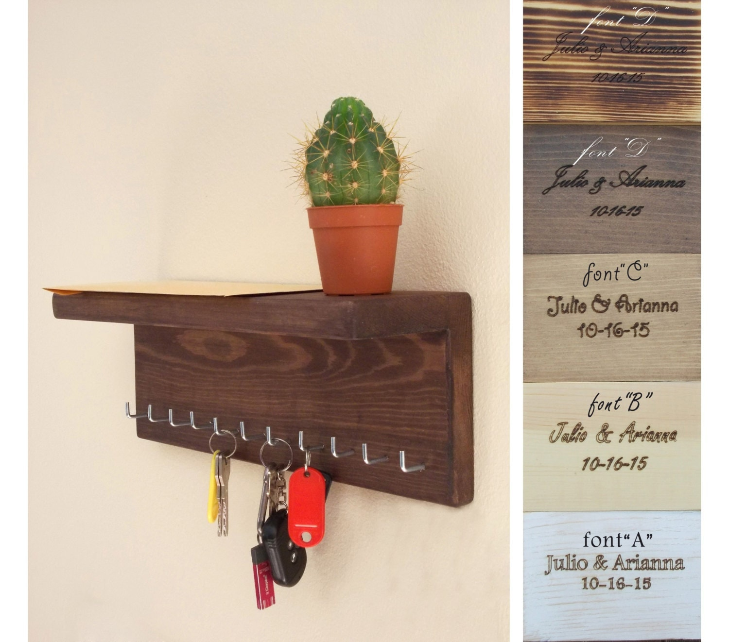 Key Holder Key Holder Wall Key Hook Key Hooks Shelving House