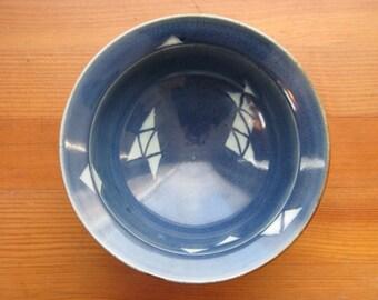 Ceramic Ice Cream Bowl, Cereal Bowl, Soup Bowl, Blue