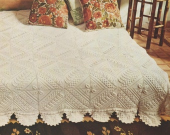 Georgia Afghan Knitting Pattern : PDF DIGITAL PATTERN:Crochet Afghan Pattern,Crochet Blanket ...