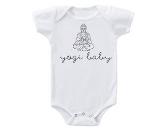 Yogi Baby Yoga Buddah Onesie BodySuit T-Shirt Toddler Sizes Available