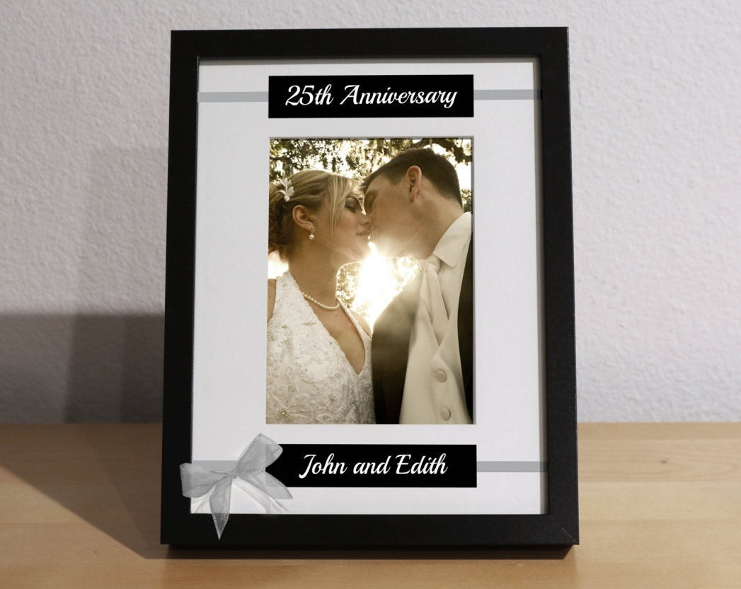 25th Wedding Anniversary 25th Anniversary Gift for Parents