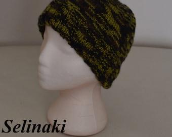 Knit Hat Green Beanie