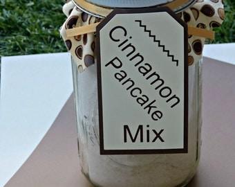 Cinnamon Pancake Mix In A Jar